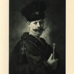 Rembrandt painting A Polish nobleman
