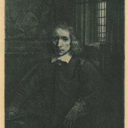 Rembrandt etching, Bartsch B. 275, Portrait of Pieter Haaringh ['Young Haaringh'; 1609-1685]