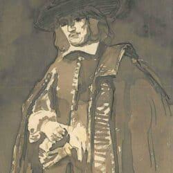 Rembrandt schilderij, Portret van Jan Six