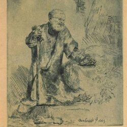 Rembrandt, Etching, Bartch B. 97,