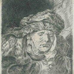 Rembrandt etching, Bartsch B. 350,