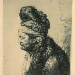Rembrandt, Etching, Bartsch, B. 287,