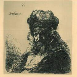 Rembrandt, Etching, Bartsch, B. 290,