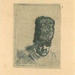 Rembrandt, Etching, Bartsch, B. 299,