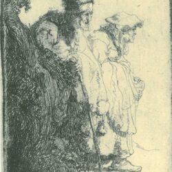 Rembrandt, etching, Bartsch B. 165,