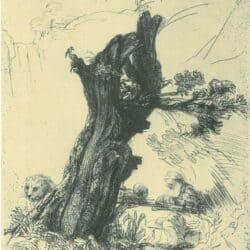 Rembrandt, etching, Bartsch B. 103,