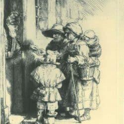 Rembrandt, etching, Bartsch B. 176,