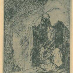 Rembrandt, Etching, Bartsch, B. 95,