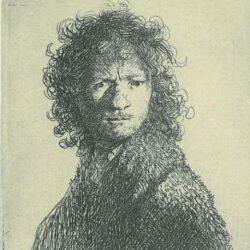 Rembrandt, etching, Bartsch B. 10,