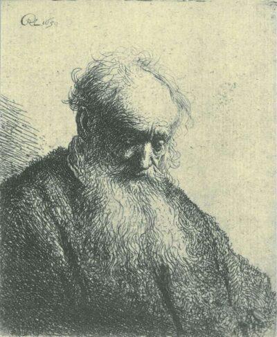 Rembrandt, etching, Bartsch B. 309,