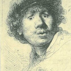 Rembrandt, etching, Bartsch B. 320,