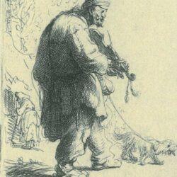 Rembrandt, etching, Bartsch B. 138,