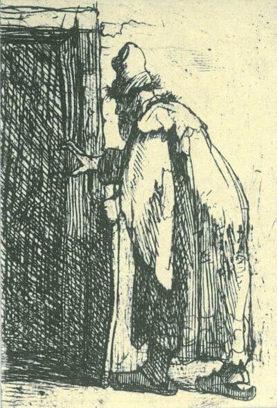 Rembrandt, etching, Bartsch B. 153,