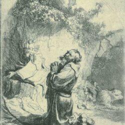 Rembrandt, etching, Bartsch B. 101,