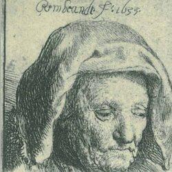 Rembrandt, etching, Bartsch B. 351,