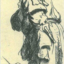 Rembrandt, etching, Bartsch B. 177,