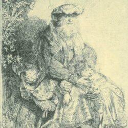 Rembrandt, etching, Bartsch B. 33,
