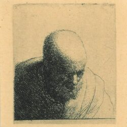 Rembrandt, etching, Bartsch B. 298,