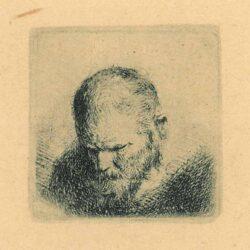 Rembrandt Etching Bartsch B. 296,