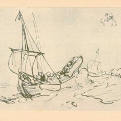 Rembrandt, tekening, hofstede de groot 219,