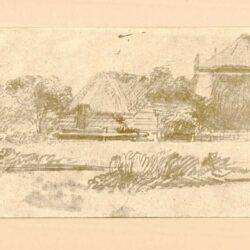 Rembrandt, zeichnung, hofstede de groot 283, Pieter de With (1625-1689)