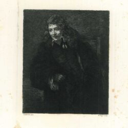 Rembrandt, painting Portrait of Nicolaas Bruyningh (ca 1629/30-1680)