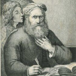 Rembrandt, schilderij, De evangelist Matteüs en de engel