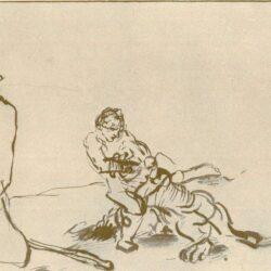 HdG 203Nicolaes MaesSKDSimson vecht met de leeuw
