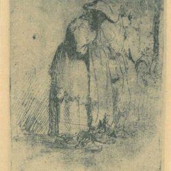 Beggar man and woman