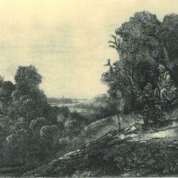 Rembrandt, etching, Bartsch B. 56,