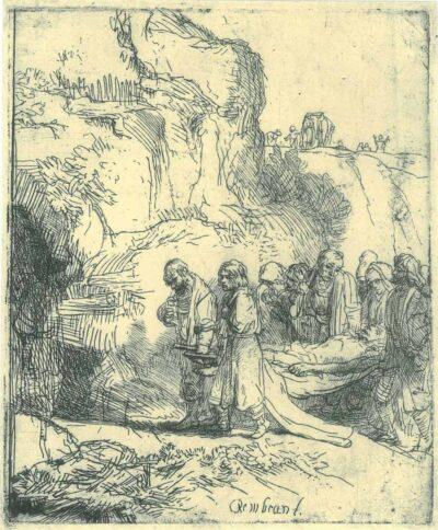 Rembrandt, etching, Bartsch B. 84,