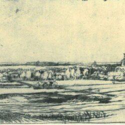 Rembrandt, etching, Bartsch B. 234,