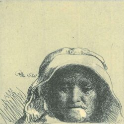 Rembrandt, etching, Bartsch B. 352,