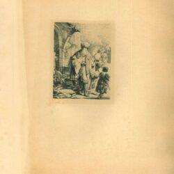 Rembrandt, Ets, Bartsch B. 30, Abraham verstoot Hagar en Ismaël