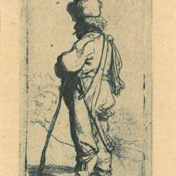 Rembrandt Etching, Bartch B. 141,