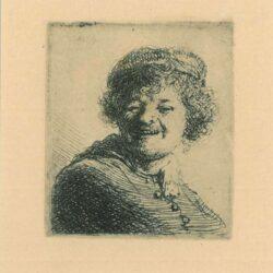 Rembrandt, etching, Bartsch b. 316,