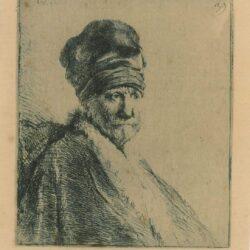 Rembrandt, etching, Bartsch b. 321,