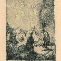 Rembrandt, etching, Bartsch b. 66,