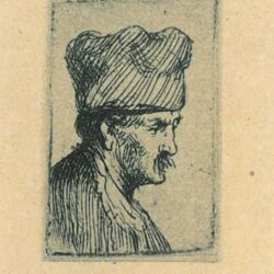 Rembrand Etching, Bartch b.303