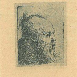 Rembrandt, etching, Bartsch b. 334, titel ontbreekt