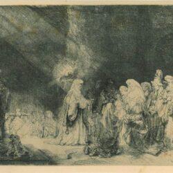 Rembrandt etching, Bartsch B. 49,