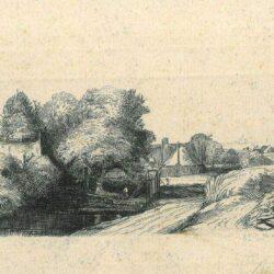Rembrandt Etching, Bartsch