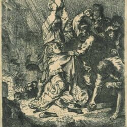 Rembrandt etching, Bartsch B. 97,